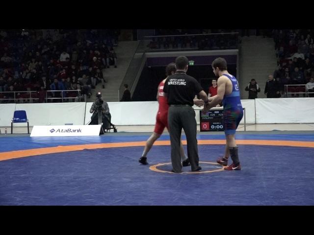 AzÇ-2017: Məhəmməd Müslümov - Gitinomaqomed Hacıyev / 70 kq, final