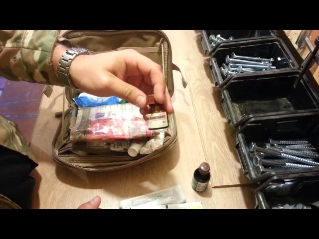 Аптечка тактическая походная 2014 подсумок CondorFirst aid kit