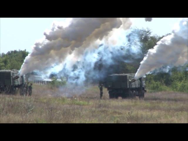 Полигон «Прудбой» сборы РХБЗ - стрельба из огнемета РПО, завеса, химзащита техники