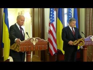 Байден попрощался с Порошенко: о чем уходящий вице-президент США договорился с п...