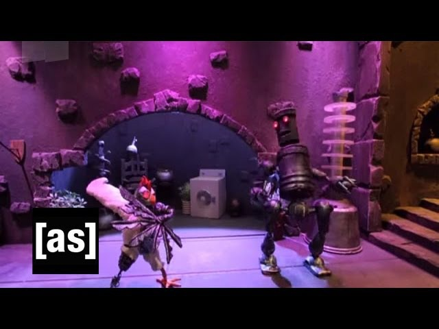 The Rescue | Robot Chicken | Adult Swim