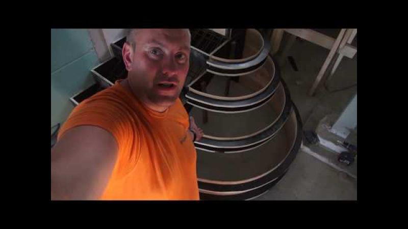 Лестница из бетона, Изготовление монолитной лестницы JURMALA RESIDENCE- 36 Brigada1.lv HD