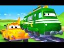 Динозавр Трой - Малярная Мастерская Тома в Автомобильный Город 🎨 детский мульт ...