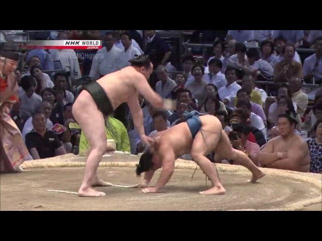 Sumo - Nagoya Basho 2017 Day 13 - July 21st