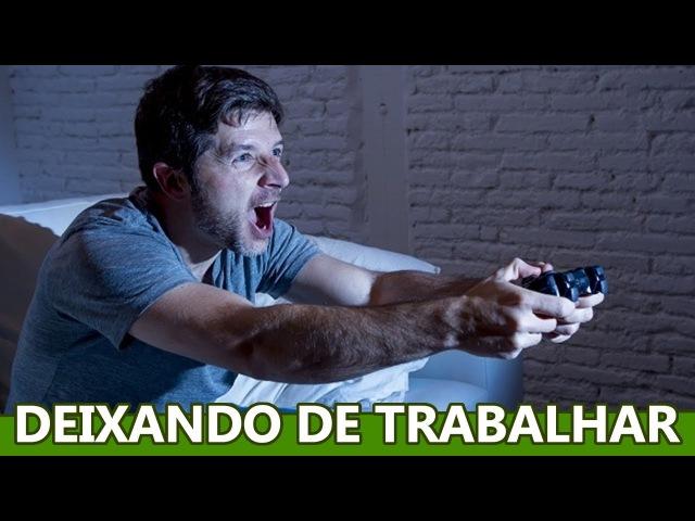 HOMENS ESTÃO PREFERINDO JOGAR VIDEO GAMES A TRABALHAR, PESQUISA ESTRANHA É REVELADA