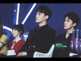 HD Fancam 170114 EXO, Red Velvet Reaction to BTS - Without A Heart @ Golden Disc Awards