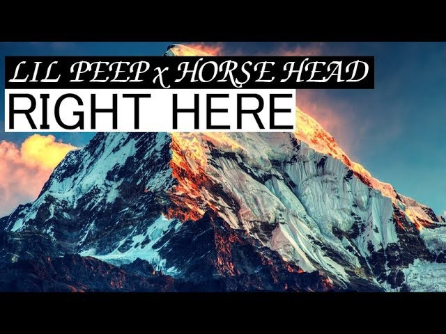 Lil peep x horse head — right here [rus subперевод]