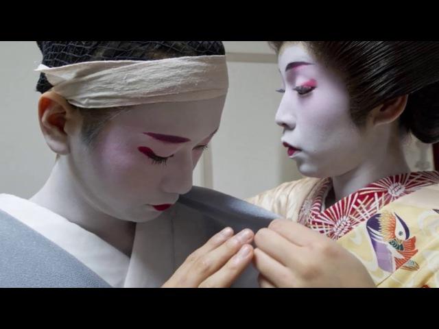 Эйтаро—единственный мужчина-гейша в Японии .