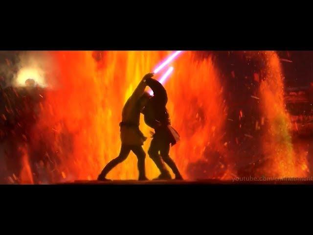 Звёздные Войны Обиван Кеноби Против Энакина Скайвокера Крутой Клип
