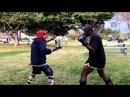 Tang Soo Do vs Muay Thai Sparring
