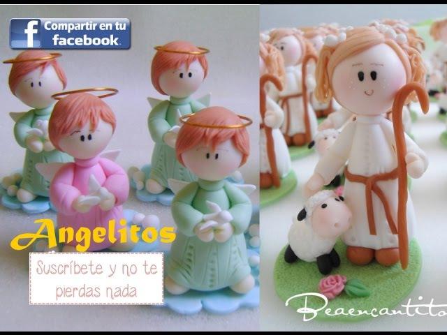 Como hacer un Angelito fácil y lindo en porcelana fría (24*11*2016)