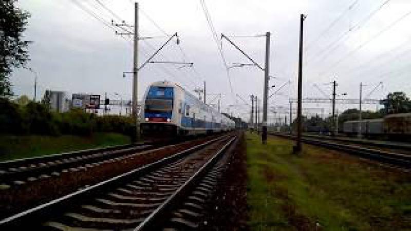 Із постійним запізненням Останнній рейс з Вінниці Škoda EJ675-01 Інтерсіті №720 Вінни...