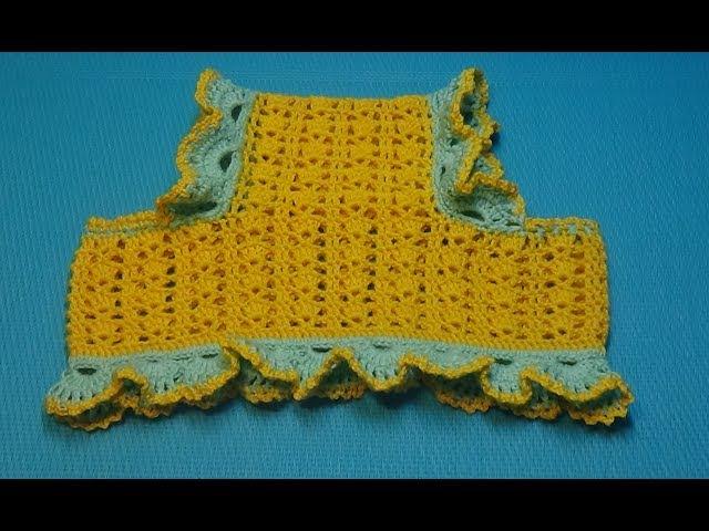 Вязание крючком. Детская панамка для маленькой принцессы под хвостики 158