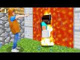 Портал в РЕАЛЬНЫЙ Мир! СТИВ #Майнкрафт в гостях у Адриана! Смешное видео #Minecraft Иг ...