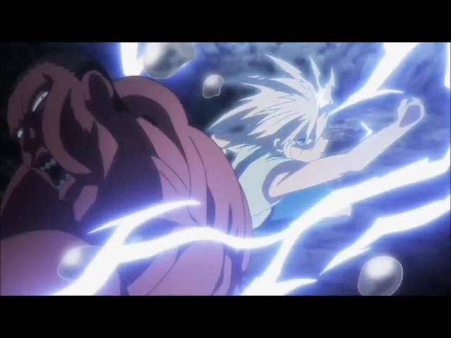 Killua speedforce