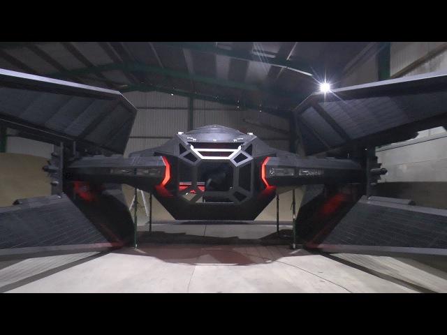 Building a Huge Tie Fighter