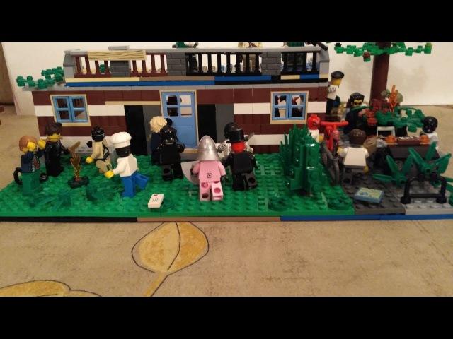 Обзор Лего Самоделки: Зомби Апокалипсис ( Магазин )