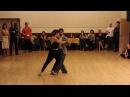 Tango giro Special workshop with Juan Martin Carrara Stefania Colina 06 04 2016 part II