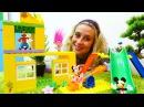 Çizgifilmoyuncakları Selin Kreş inşaatı yapıyor 🏫 Kız ve erkek çocukları için video