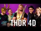 Thor Ragnarok 4D w the 'Thor' Cast