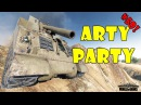 World of Tanks Funny Moments ARTY PARTY 50