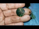 Осенний коп,поиск старины,монет в тумане с металлоискателем Ака беркут 5