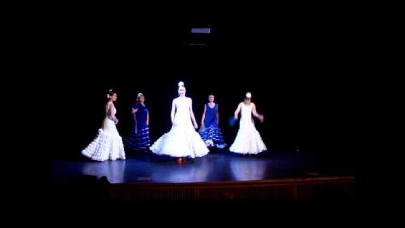 Alegrias con abanico (школа танцев Costa del Flamenco под руководством Лилии Сафиной)