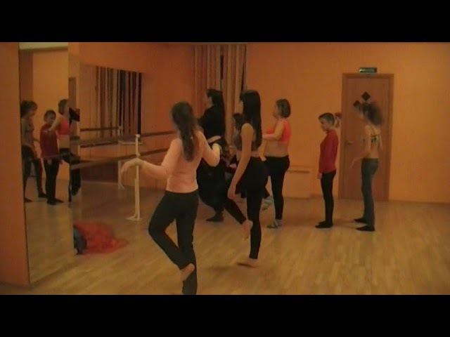 Креатив центр Глянец. Мастер-класс Александры Скрипиной. Восточные танцы. Раменское