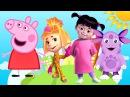 МАША И МЕДВЕДЬ смешные лица СУПЕРГЕРОИ новые герои Фиксики и Лунтики мультики для детей