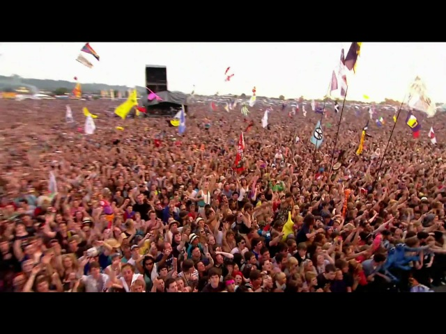 Lady Gaga Poker Face Live at Glastonbury Festival 2009 HD