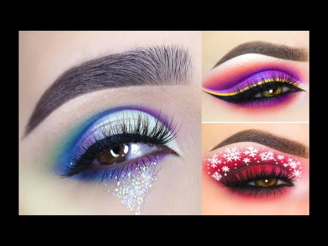 ♛ New Eye Makeup Tutorial♚Lots Of Tips and Tricks♔Compilation part 1 💋