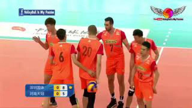 Guangdong (广东) vs Henan (河南 )| 05-11-2017 | Chinese Men's volleyball super league 2017/2018