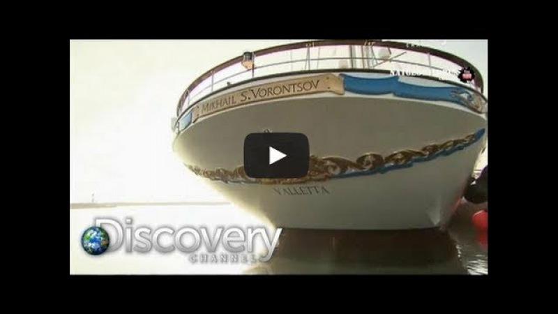 СУПЕР ЯХТЫ 2013 ЯХТА МИХАИЛ ВОРОНЦОВ Самая большая парусная яхта в мире