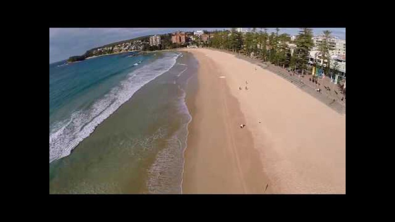 Manly Beach Sydney Australia - View From Above