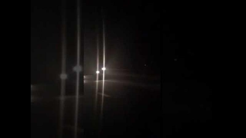 Многотонная фура без света