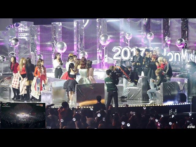 171202 멜론뮤직어워드 글로벌아티스트상 [방탄소년단] 리액션 레드벨벳 아이유