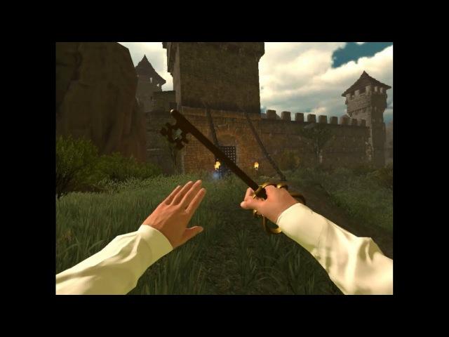 Стрим Виртуального квеста Остров с очками виртуальной реальности