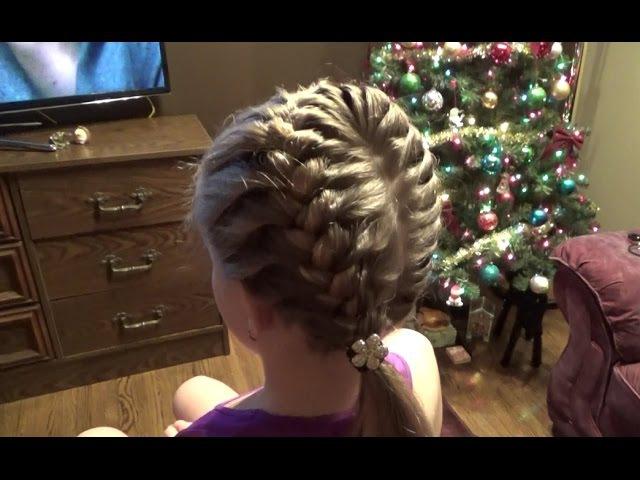 Супер причёска за 10 минут Peinado Hairstyles Braids Tutorial