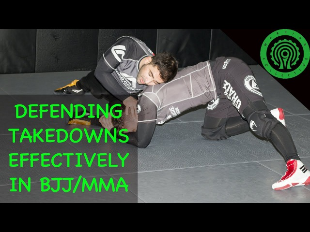 Wrestling Defending Takedowns Effectively in BJJ and MMA Tutorial