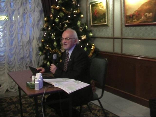 Питание человека и БАДы Nutrilite - в профилактике заболеваний проф Дадали В А СПб, декабрь 201