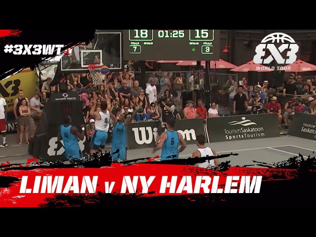 Liman vs NY Harlem | Game of the Day | FIBA 3x3 World Tour Saskatoon Masters 2017