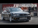 Becoming the World's Most Streetable 8-second R33 GT-R