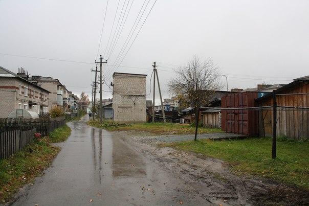 Перспективный вид на дворовую сторону улицы Советской  14 ноября 2017