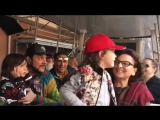 Филипп Киркоров с детьми: Мартином и Аллой-Викторией в Диснейленде,01.07.17