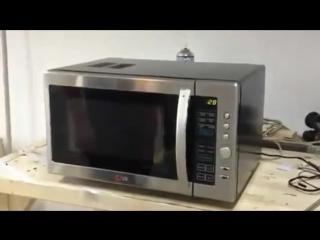 Микроволновка на сигнализации (VHS Video)