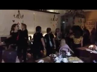 Сальса вечеринка в Testo на дровах. Fresh Dance. г.Россошь