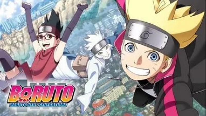 Boruto. Naruto Next Generations. 4 Серия(Rain.Death)