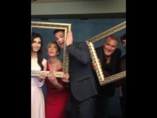 Промо-съёмка для телеканала «FreeForm» во время ТСА 2017 год
