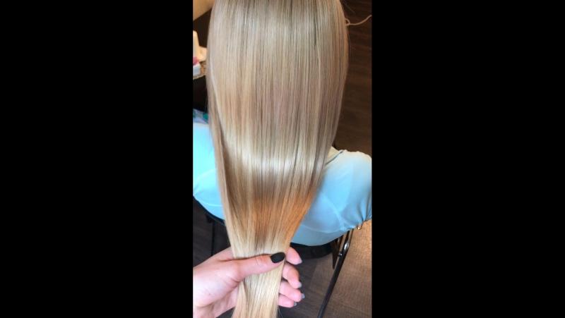 Блеск, сила и пепел на натуральном блонд