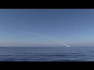 Корабли ВМФ России осуществили пуски четырех крылатых ракет «Калибр» по объектам террористов ИГИЛ в районе Пальмиры